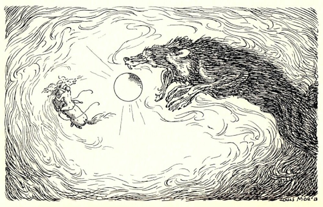 The Fenris wolf swallows the sun. The climate disaster that began the year 536 was surely the most dramatic cooling of the Earth that humans, animals and plants have experienced in the last two thousand years. It was likely due to two large volcanic explosions, which every few years sent huge amounts of fine dust high into the atmosphere. There was dust for several years. The sun disappeared. This became another story in the imagination and myths of men.