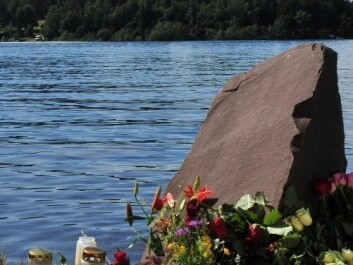 In memory of the victims at Utøya (Photo: Paal Sørensen / Wikimedia Commons)
