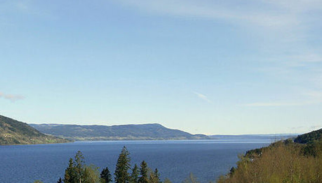 Lake Mjøsa. (Photo: Mahlum/Wikimedia Commons)