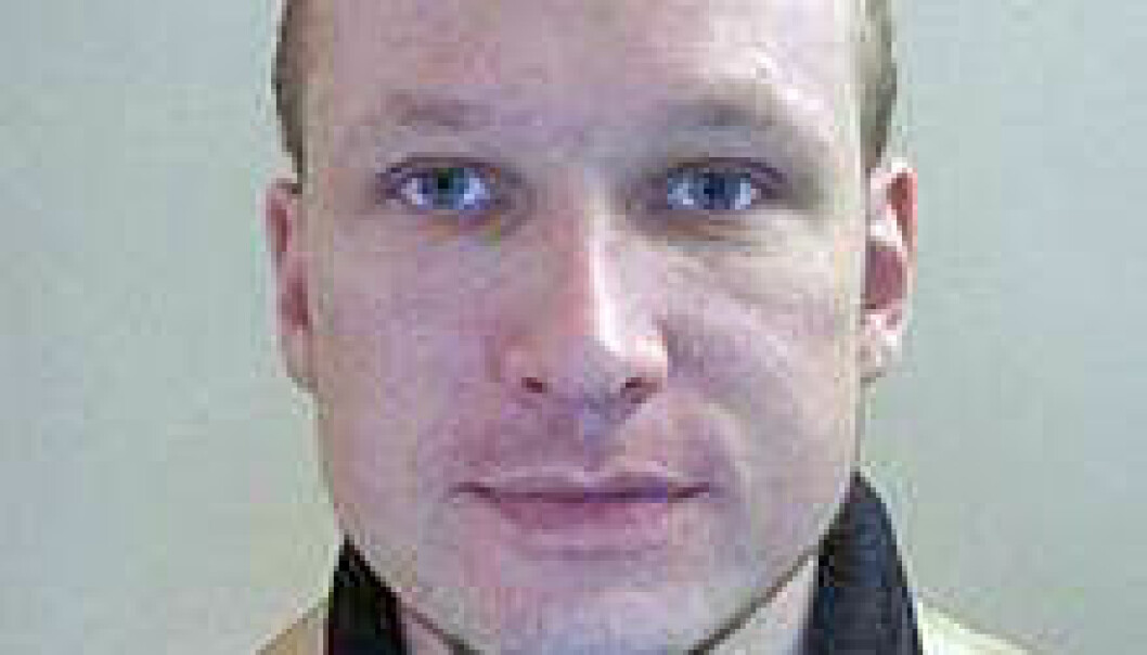 Breivik's behaviour prior to setting off a car bomb in downtown Oslo and the subsequent massacre of scores of young people at Utøya is nearly a carbon copy of what researchers say are signs law enforcers should be on the alert for. (Passport photo published by the Norwegian police)
