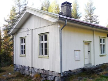 Heie School in Telemark County, built in 1886. It now serves as the Tinn Museum in Rjukan. (Photo reproduced courtesy of Leidulf Mydland/NIKU)