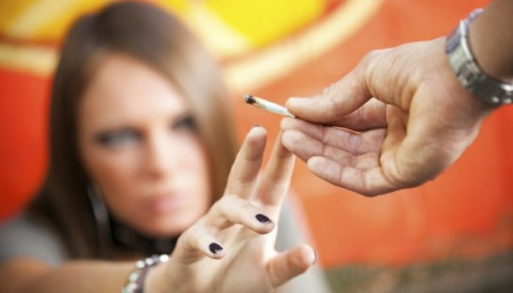 Fewer young people are using marijuana, hashish or other types of cannabis. (Photo: iStockphoto)