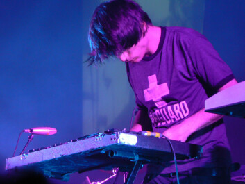 The album In Rainbows by Radiohead was on the top-ten list of vinyl albums last year. Pictured: Radiohead's Jonny Greenwood (Photo: Michell Zappa, Creative Commons)