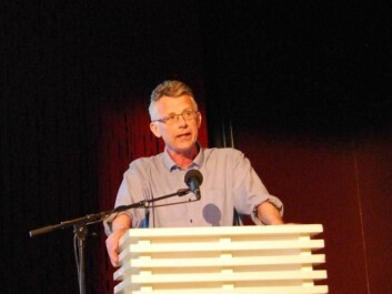 Willy Pedersen says the probability of being arrested for a crime and ending up as a welfare recipient increases dramatically with the use of cannabis. (Photo: Hanne Jakobsen)