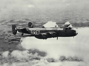 A Halifax bomber, like the ones used during the operation. (Photo: Wikimedia Commons)