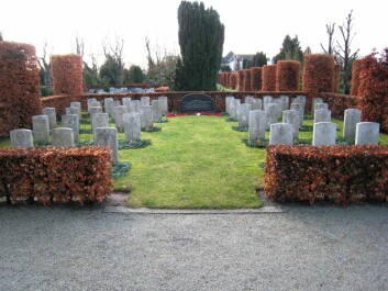 The graves at Eiganes where 25 of the soldiers from Operation Freshman now rest. (Photo: Ion Drew)