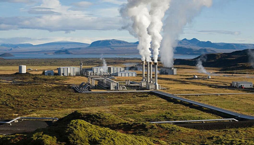 Nesjavellir Geothermal Power Station at Þingvellir, Iceland (Photo: Gretar Ívarsson)