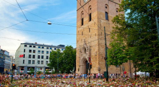 Oslo Cathedral was a likely focal point for grief