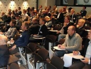 Participants at the conference GeoEnergy2011 (Photo: Arnfinn Christensen)