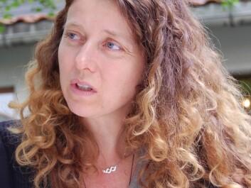 Ingeborg Klingen from Bioforsk. (Photo: Preben Forberg)