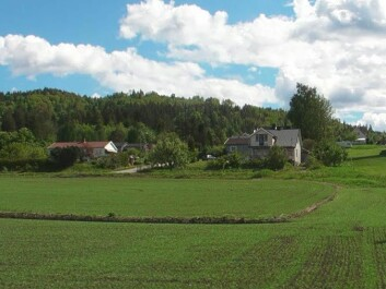 From the Fen field (Photo: Gunnvald Solli, Norsk Thorium)
