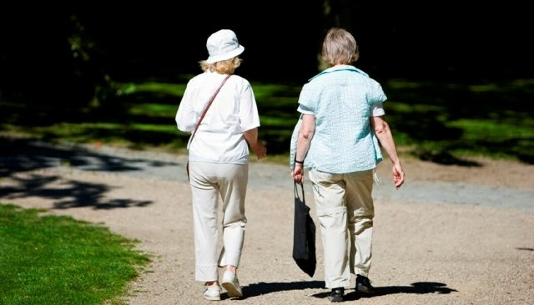 A half-hour walk every day is enough physical exercise to keep diabetes in check, but this goal proves difficult to achieve. (Photo: Colourbox)