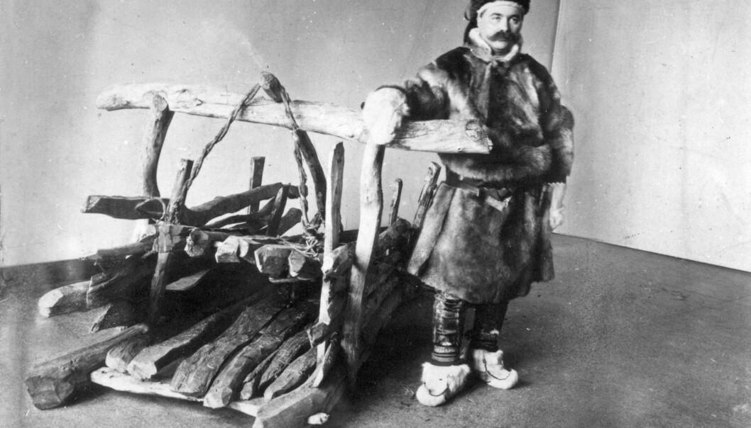 Isak Saba was the first Sami MP (1906-1912). (Photo: Tromsø Museum. Photo: G. Gustafson. Tromsø Museum - the University Museum)