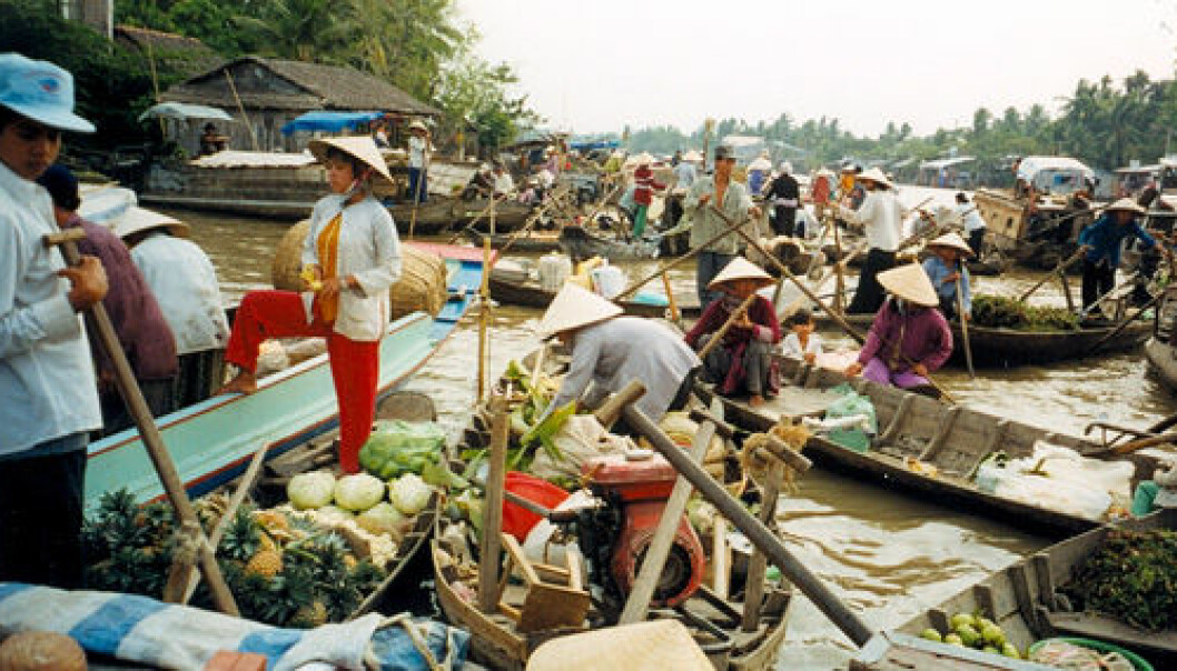 The Mekong river in Vietnam. (Photo: Wikimedia Commons)