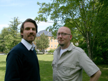 """If left untreated, post-traumatic stress disorder can be disabling and lead to the inability to function in daily life"", says Joar Øverås Halvorsen (left). His colleague, Håkon Stenmark is on the right. (Photo: Synnøve Ressem)"