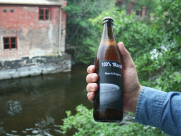 Einkorn beer brewed on a hobby basis at Hemnes has won acclaim from near and far. (Photo: Asle Rønning)