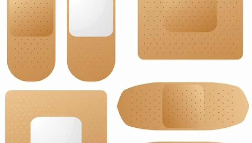 Nanosilver is used in various applications such as antibacterial bandages. (Photo: Colourbox)