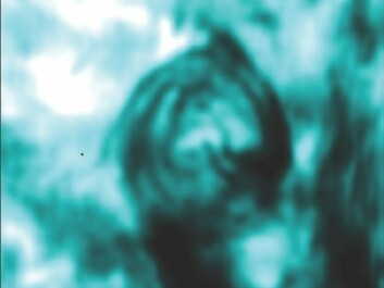 The magnetic tornadoes look like whirlpools in the chromosphere. (Photo: Scullion, Wedemeyer-Böhm et al.)