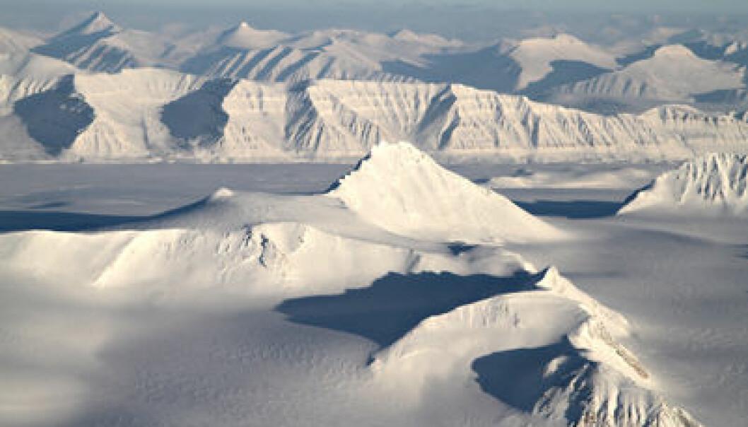 Svalbard. (Photo: Bjørn-Owe Holmberg)