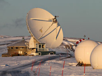 The geodetic observatory operated by the Norwegian Mapping Authority (NMA) at Ny-Ålesund. (Photo: Bjørn-Owe Holmberg)