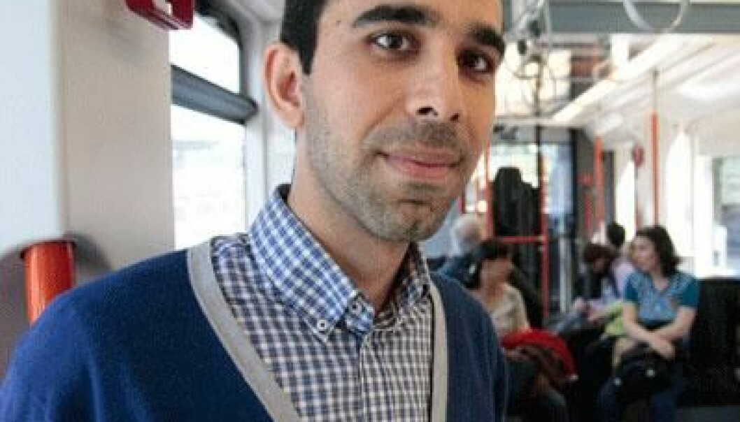 Mohammad Reza Sohizadeh Abyaneh has found that RFID chips aren't totally safe. (Photo: Dag Hellestad)