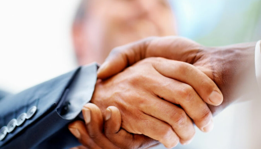 A new study shows that business friendships are fragile. (Photo: iStockphoto)