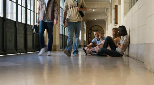 To get laid, high school students harass each other
