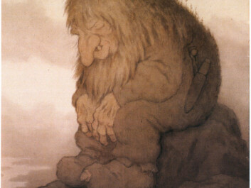 It wasn't until the end of the 19th century that trolls were presented in their current visual form, after Th. Kittelsen and his colleagues drew them for Asbjørnsen and Moe's very popular collections of folktales. The illustrations correlated so well with trolls as people imagined them that few people now envision them in any other way. (Photo: Lauvlia)