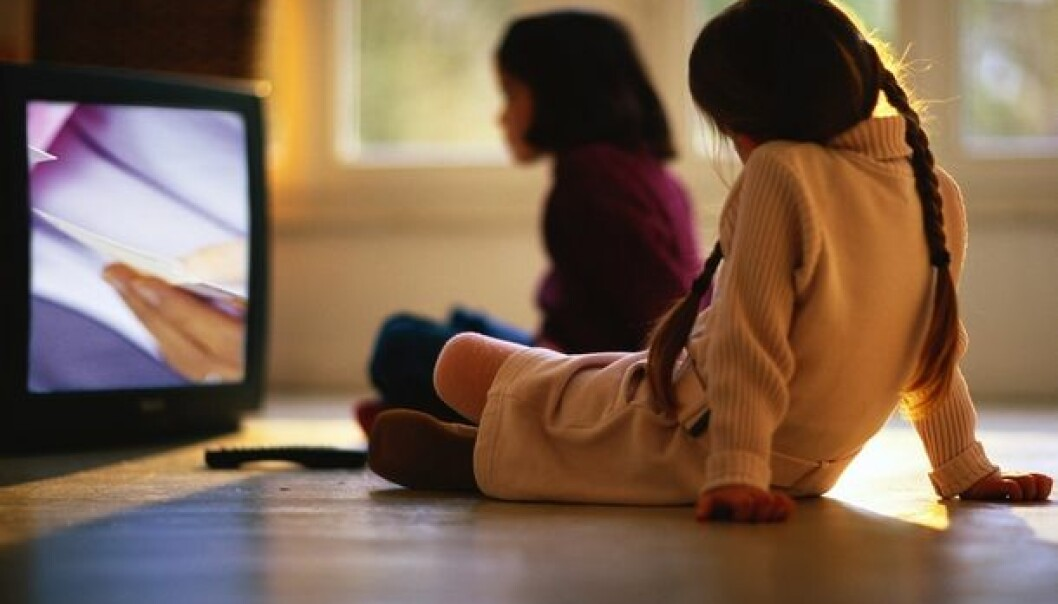 This study shows that screen time has a vital impact on health. (Illustration photo: Colourbox)