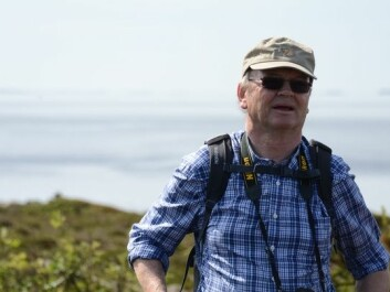 Professor Peter Emil Kaland from the University of Bergen. (Photo: Morten Günther)