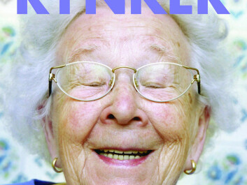 Nør has a new book out with words of wisdom from the elderly. (Book cover: Gyldendal)