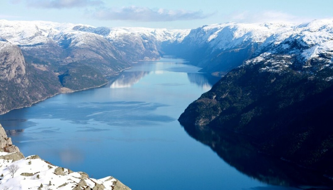 The fjords of Norway are on UNESCO's World Heritage List and are popular with the tourists. (Photo: Colourbox)