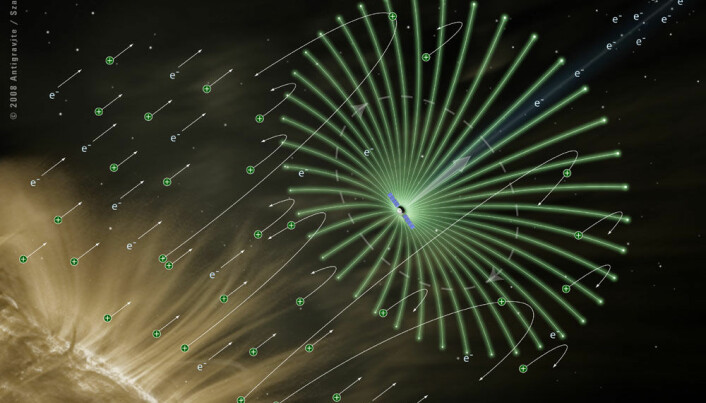 Sailing by solar winds