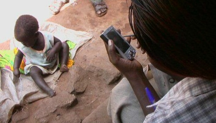 Mobile phones bring health to the poor