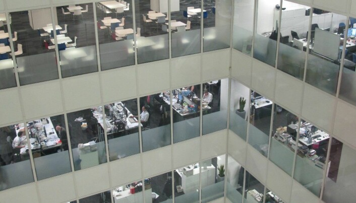 Costly cacophony in open plan offices