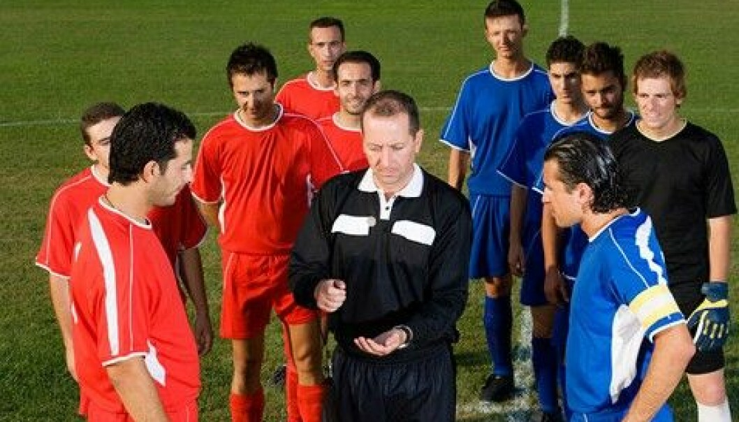 A coin toss could affect the outcome of the penalty kick shootout. (Photo: Colourbox)