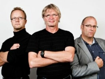 Soscial scientists postdoc Bjørn Ivar Kruke, Professor Odd Einar Olsen and Professor Ole Andreas Engen from the University in Stavanger. (Photo: Morten Berentsen)