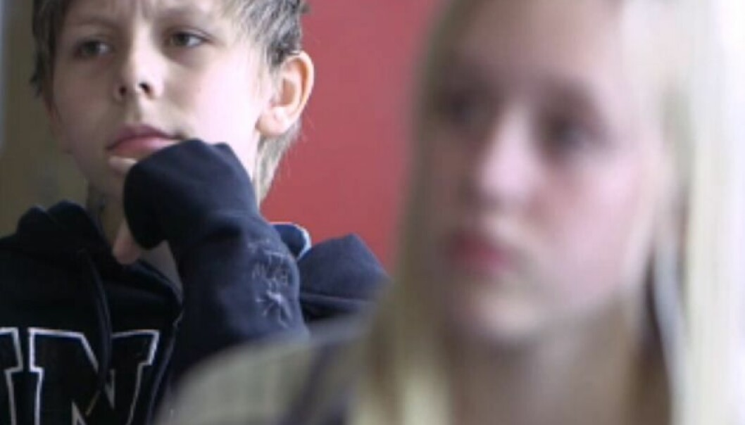 How well do eighth graders learn while multitasking? (Photo: NRK)