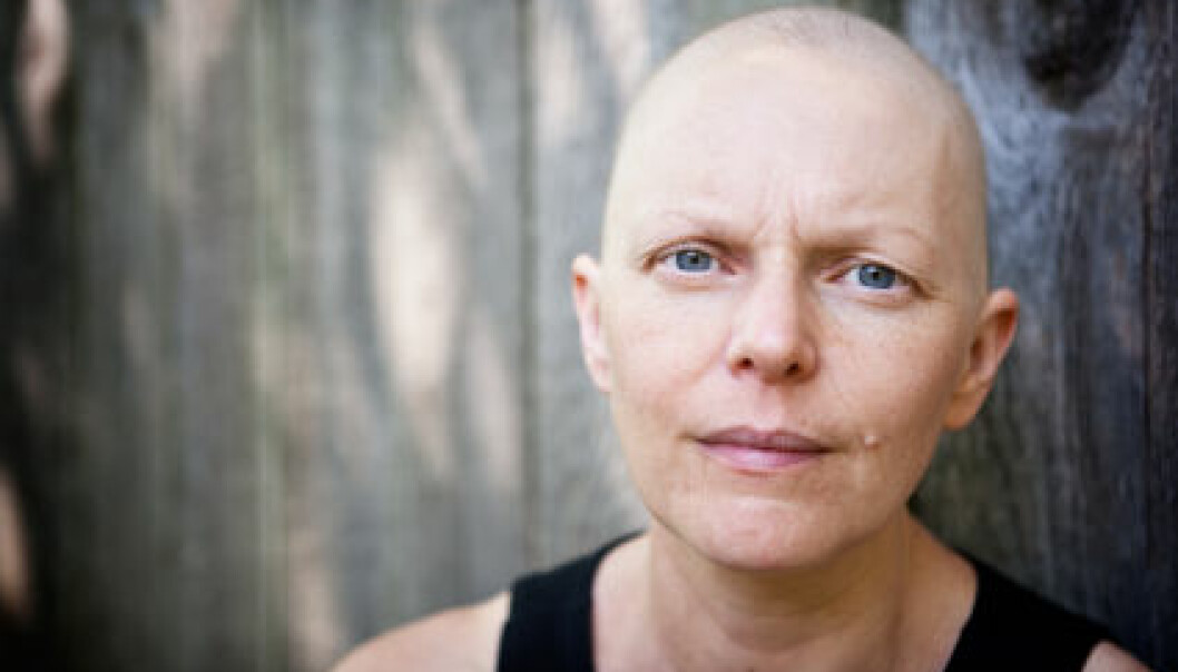 Cancer patients will suffer if Norwegian cancer research deteriorates. (Photo: iStockphoto)