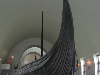 In Oseberg long boat the skelatons of two women were found. (Photo: Wikimedia Commons)