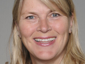 Tiril Willumsen-- who clearly does not fear going to the dentist. (Photo: UiO)