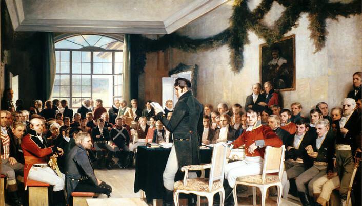 1814 shaped Norwegian and Danish identity