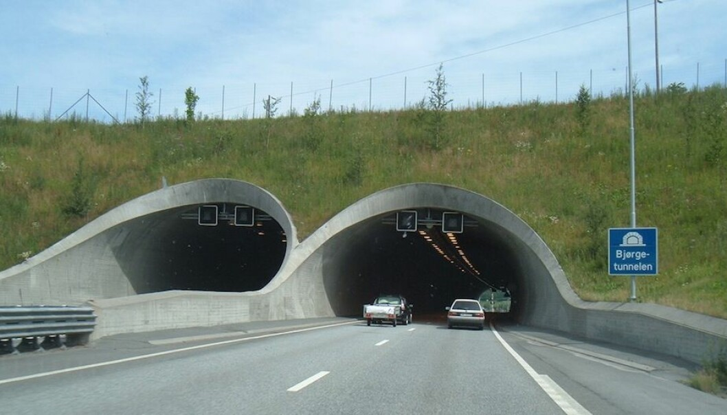 Geological surveys are used for everything from finding oil offshore and rare metals in the mountains to how we should construct tunnels.  The Bjørge Tunnel in Vestfold County is in the middle of an area where geologists have prepared a map of structural weaknesses in the rock. (Photo: Stephen Mackenzie/Flickr Creative Commons)