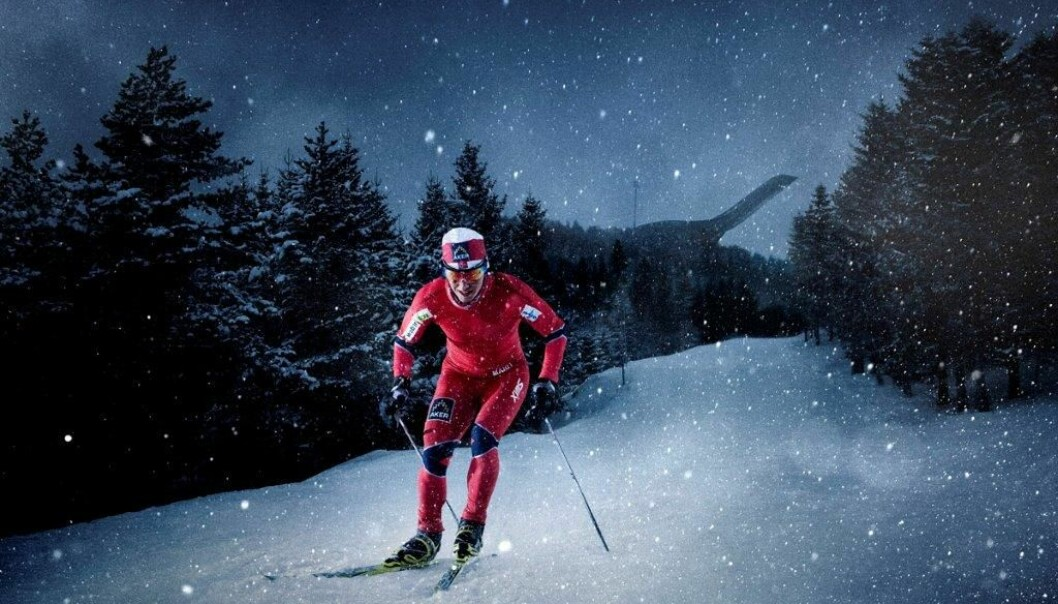 If skiers wearing modern competition skiwear want to achieve peak performance, the temperature around their bodies should be between +1 and -4 degrees. (Photo: Swix)