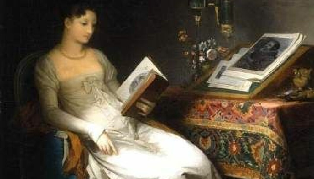A Lady Reading, 795-1800. (Painting: Marguerite Gerard/Public domain)