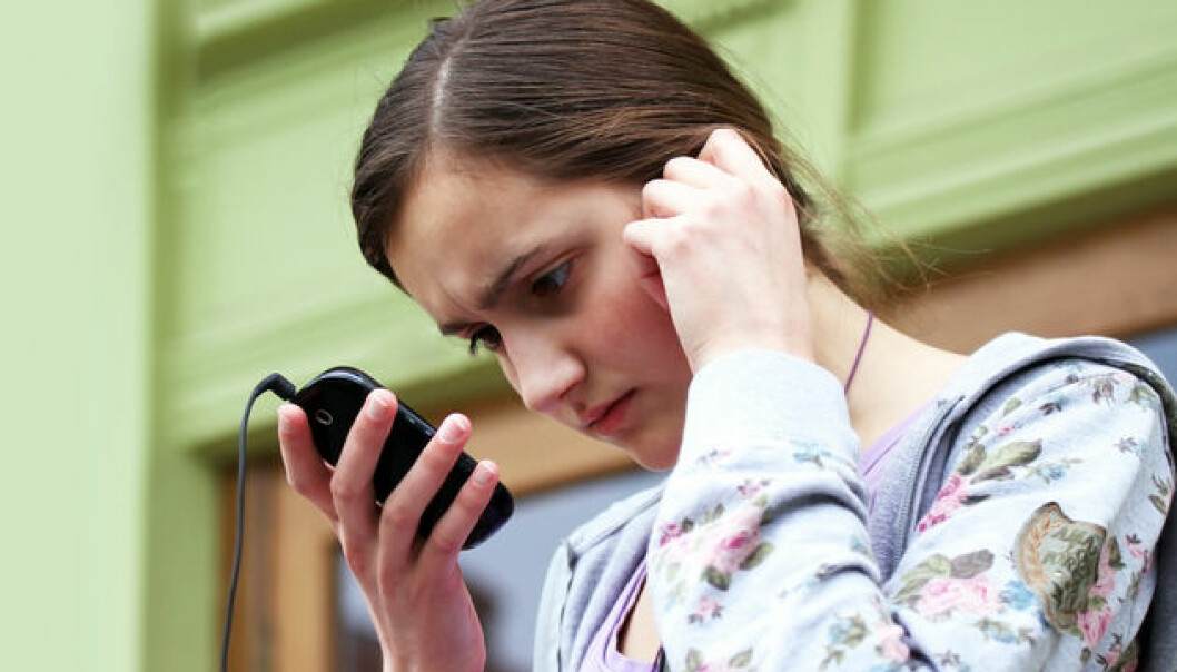 Smartphones can be used as a tool for psychological testing. (Photo: Colourbox)