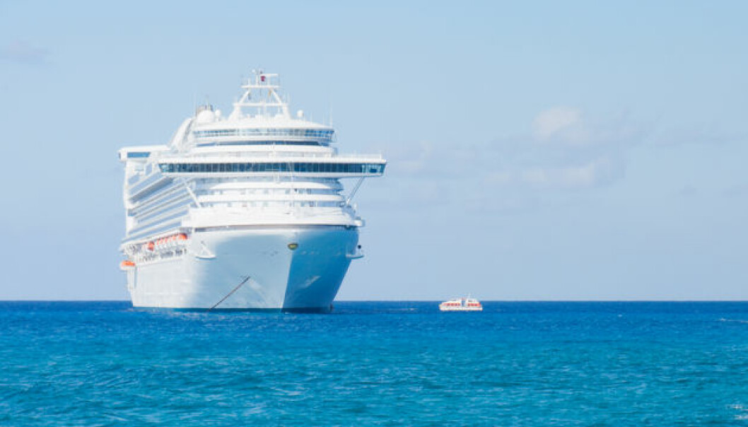 The cruise ship industry has seen a ten-fold increase in business in the last 30 years. But a Norwegian study shows that cruise tourists hardly leave money behind in the countries they visit. Foto: Colourbox