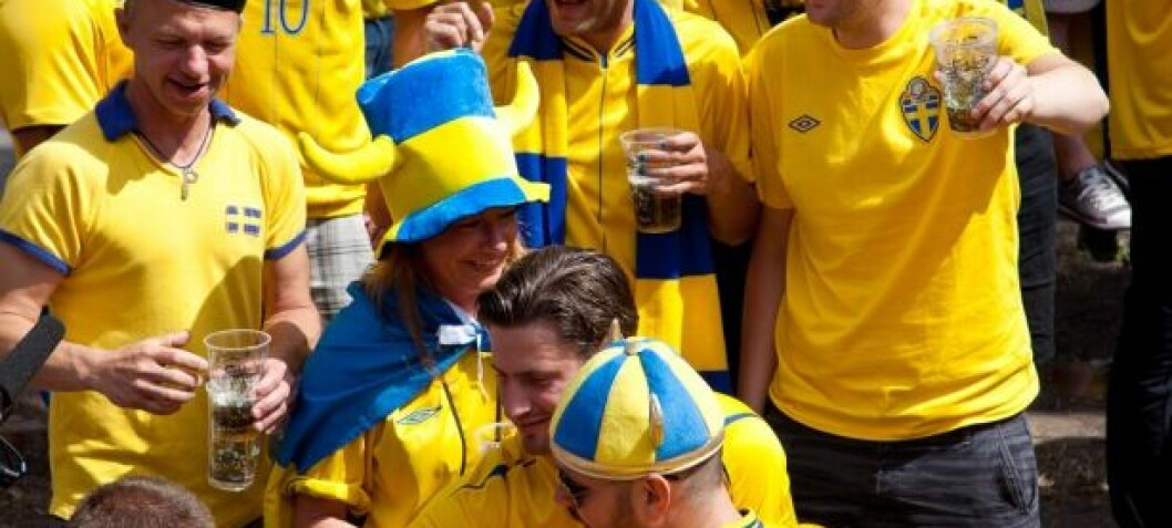 Sick Swedes keep on swigging