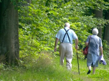 Swedish women in the older sector of the population spend a lot of time in the outdoors. They are also least likely to get drunk. (Photo: Colourbox)