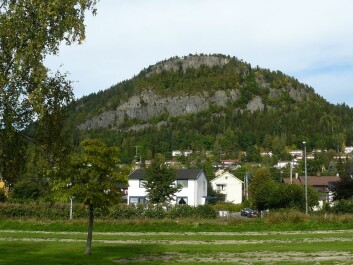 The area around Kolsås Hill looks peaceful enough now, but this used to be an inferno of eruptions and flowing lava. (Photo: Chell Hill / Wikimedia Commons)
